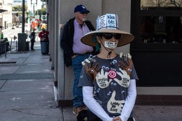 """""""Silence."""" Women's March 2020, DTLA (Photo: Janette Ayub)"""